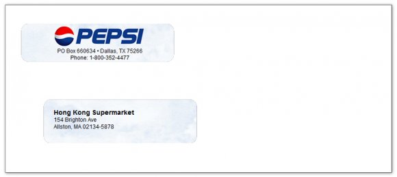 double window check envelopes regular order business checks with