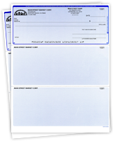 QuickBooks Voucher Checks