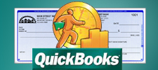 QuickBooks Checks With logo