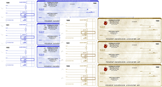Order Duplicate - 2 manual business checks online from Deluxe and enjoy FREE shipping. Customize your business checks by adding your company logo.
